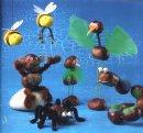 Тема осень поделки из пластилина гриб.